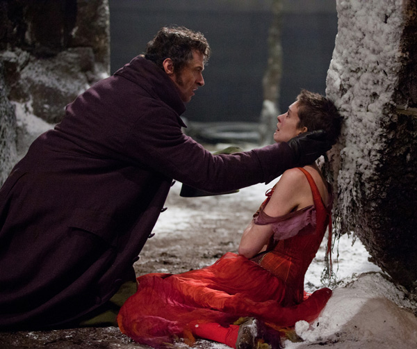 Les Miserables - Hugh Jackman and Anne Hathaway