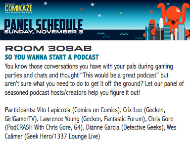 ComikazeExpo2013-PodcastPanel