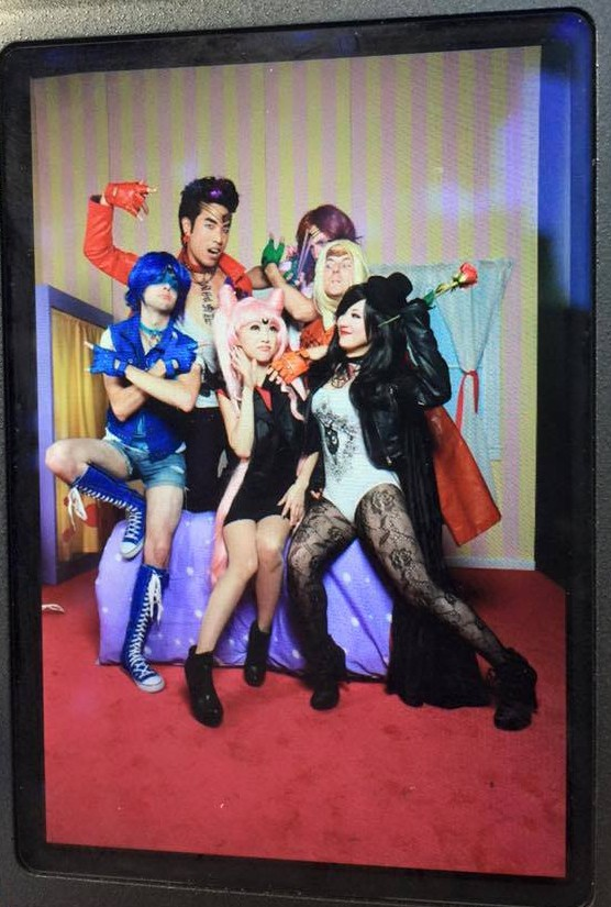 Punk Rock Sailor Moon with the Try Guys at Anime Expo 2015 - Saffels Photography