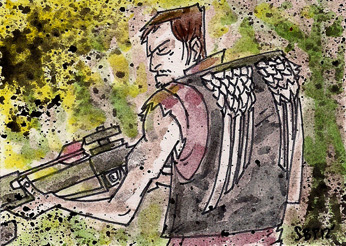 daryl_dixon_by_spencerplatt-d5hjszm
