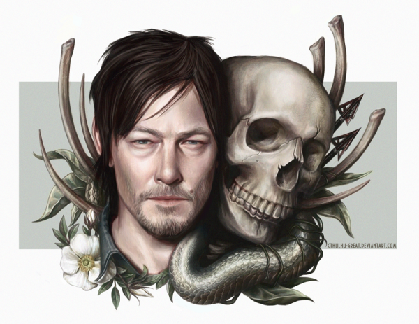 norman_reedus___daryl_dixon_by_cthulhu_great-d7hlnxp